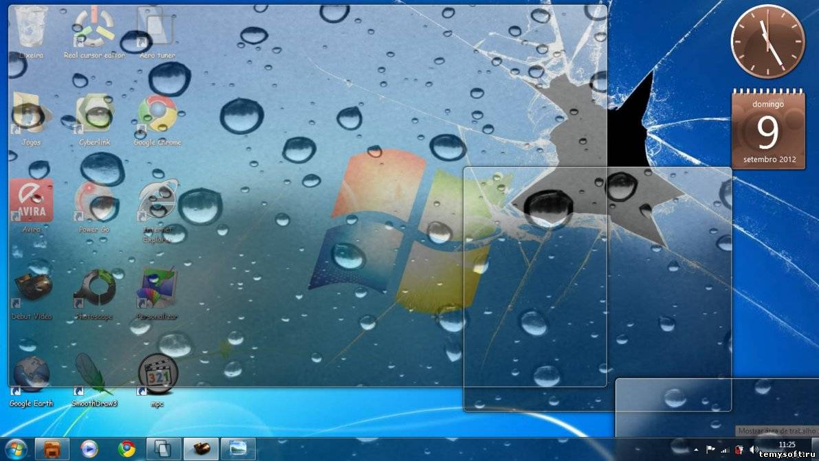 Windows Ice-Gotas