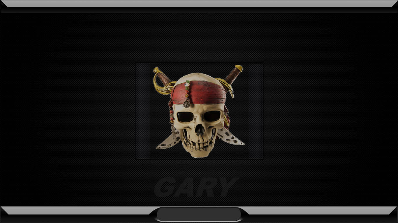 Pirate Logon Screen by GARY