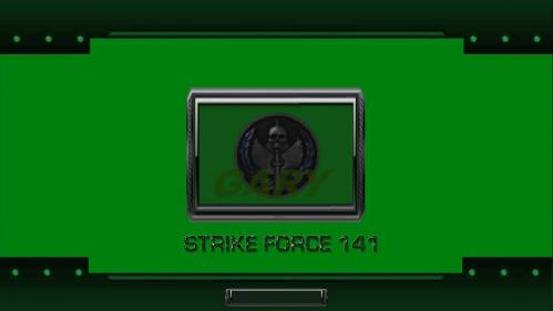 Strike Force 141 Green by Gary