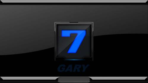 Windows 7 Blue Login by GARY