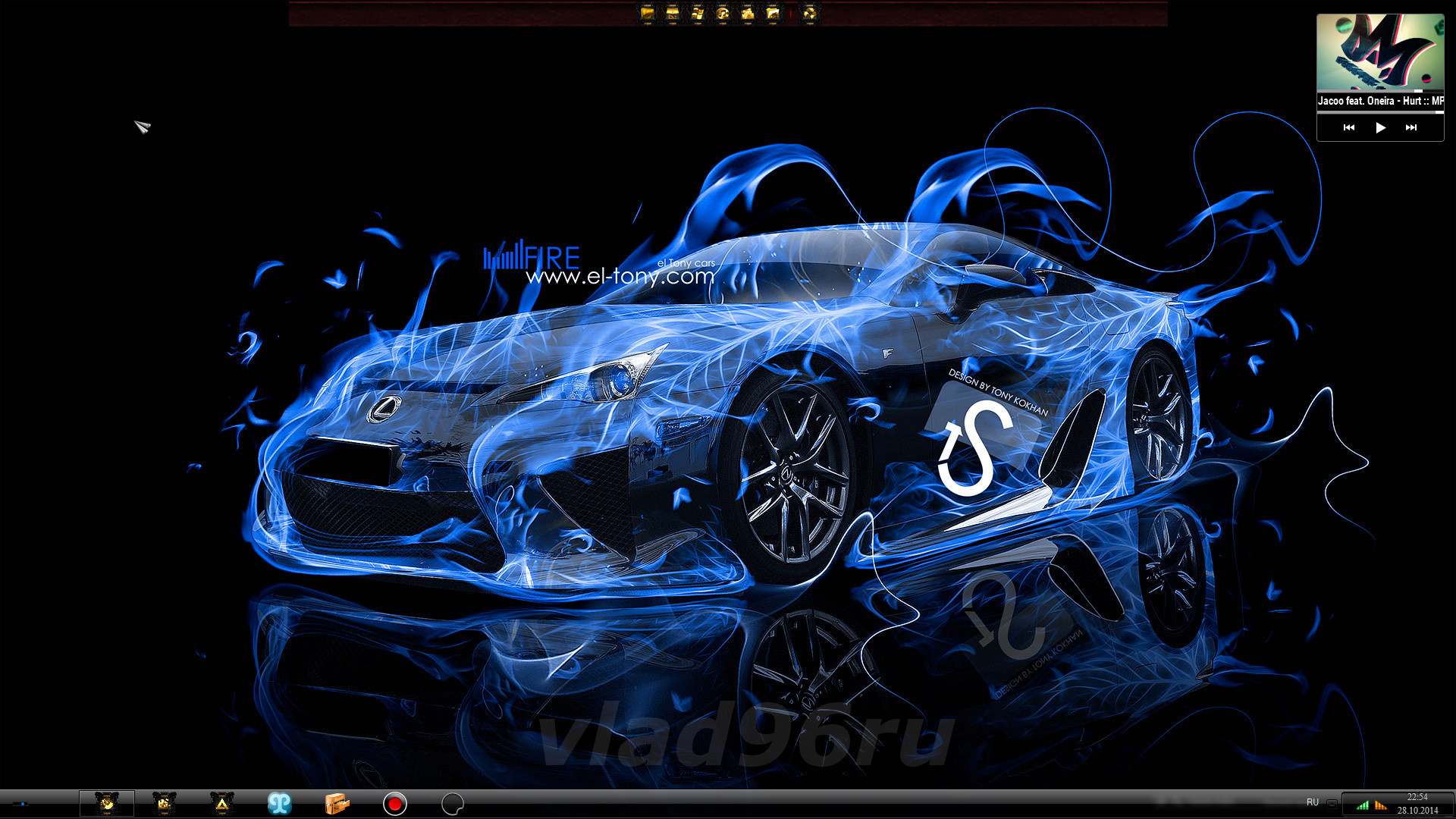 W7 Theme 7even 4our 8ight V.3 ;o) by Tiger