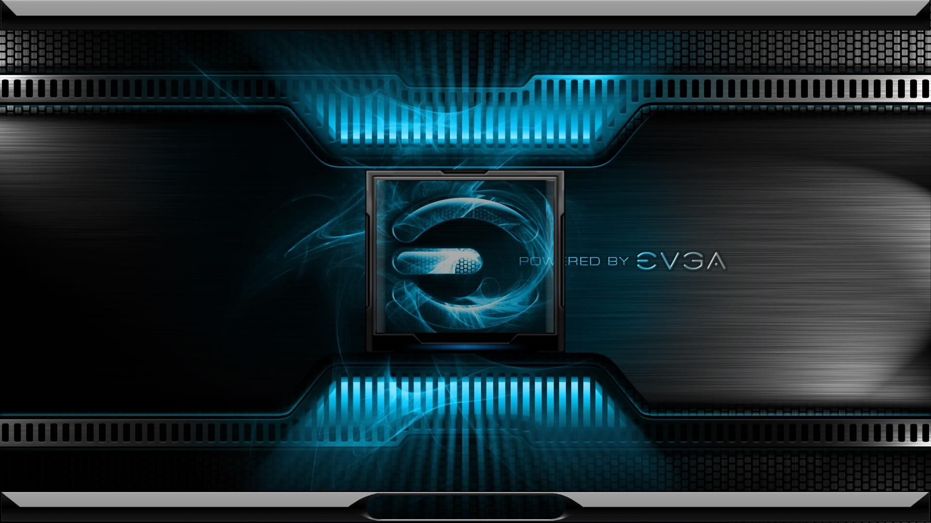 Poered By Evga Logon by GARY
