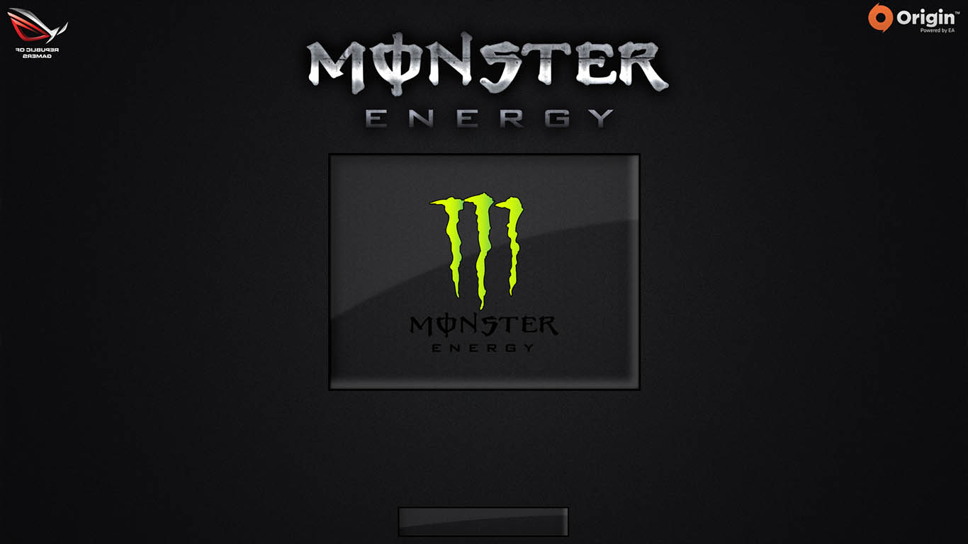 Monster Energy Logon By TerminatoR