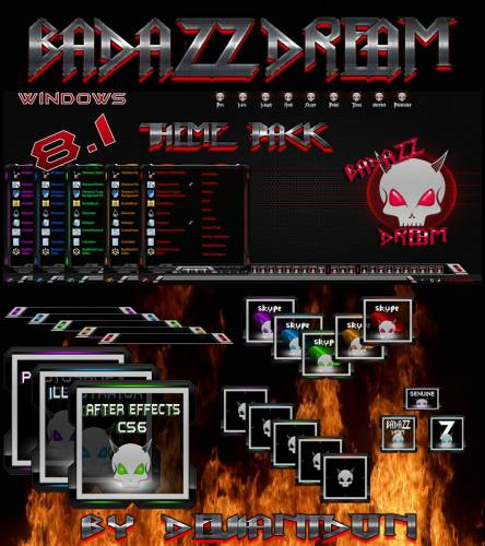 BadAzz Dream W8.1 Theme Pack by deviantdon
