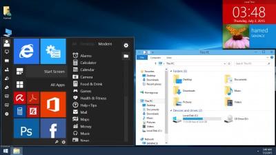 Skin Pack Windows 10 - Пакет оформления в стиле Windows 10