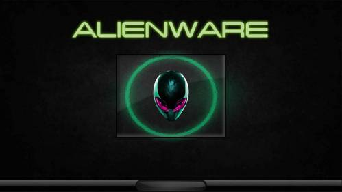 ALIENWARE GREEN NEON LOGON By TerminatoR