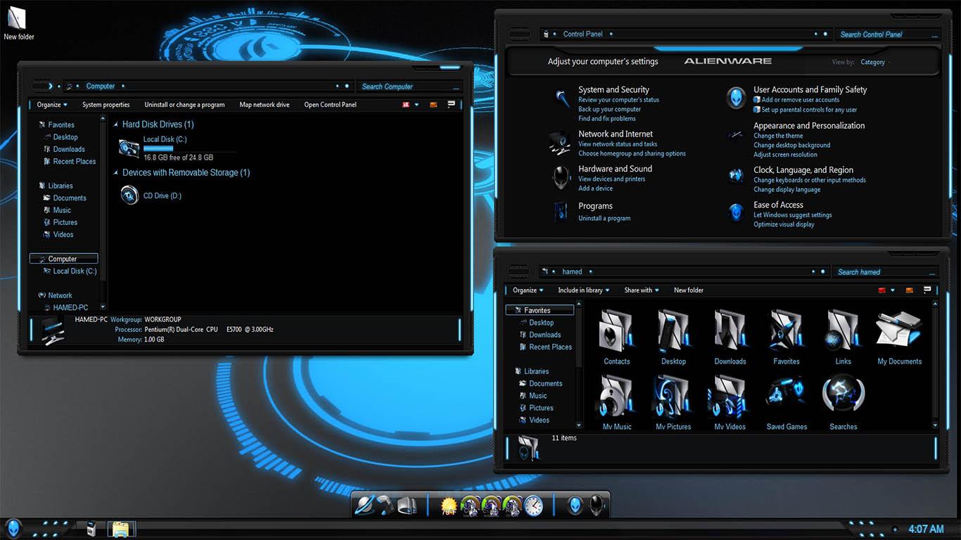 SkinPack Alienware 3.0