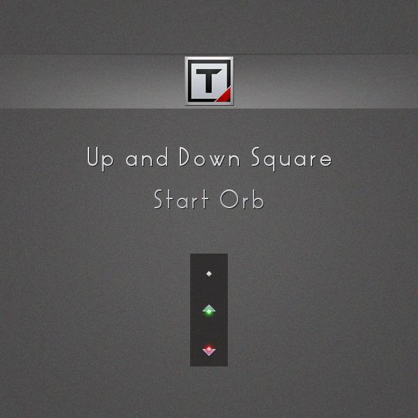 Up and down square by takumidesign