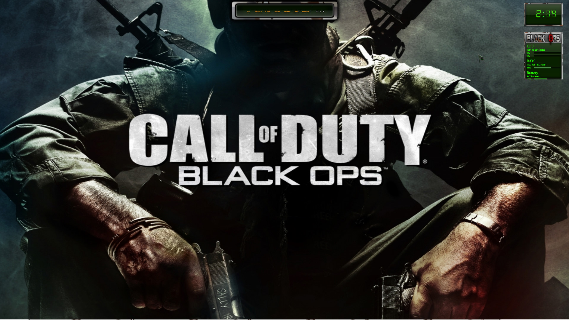 Black Ops W7 Theme Updated by Pauliewog