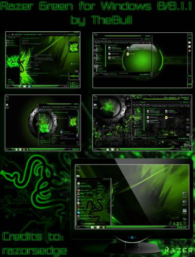 Razer Green Theme by TheBull