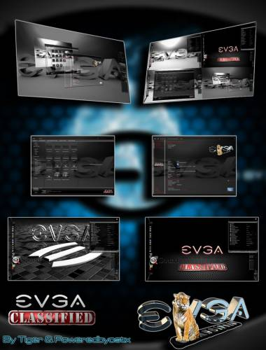 EVGA CLASSIFIED by Tiger & Poweredbyostx