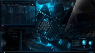 Sub Zero Sapphire W8.1.1 Theme by Razorsedge & Lamia