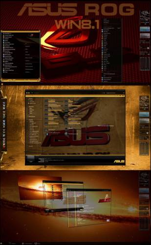 ASUS ROG by Tiger & Mr351837 & PoweredByOstx