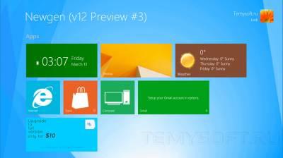 SkinPack Windows 8.1 - Пакет оформления в стиле Windows 8.1
