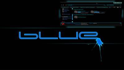 Blue by Robin safuddin