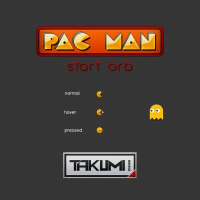 Pacman start orb by takumidesign