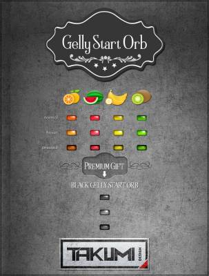 Gelly start orb by takumidesign