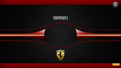Ferrari Logon Background by TakumiDesign