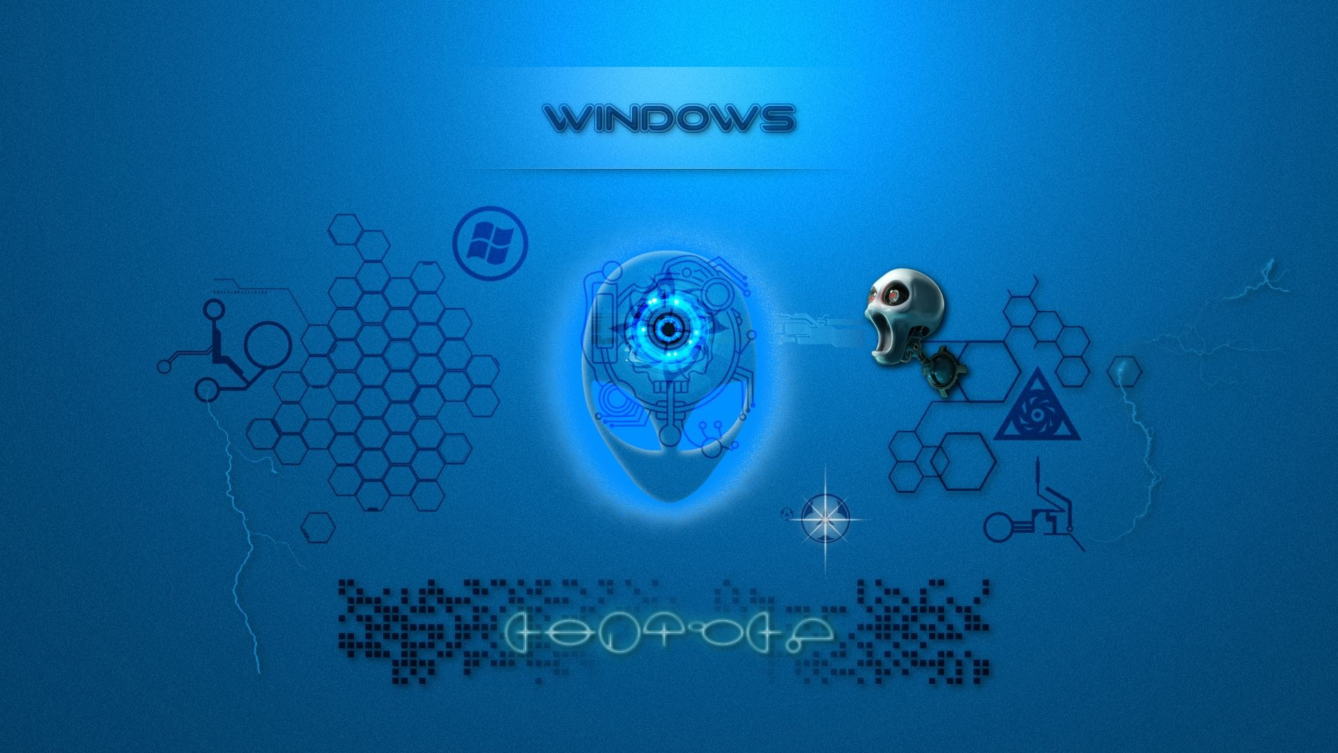 Alien BLUE -windows- by Tomecar