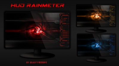 Hud Rainmeter by BeautyDesignz & MR.GRIM