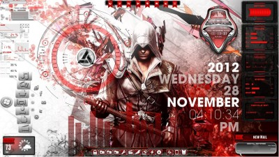 Assassin s Creed Desktop for Rainmeter by ionstorm01