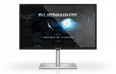 Alienware Wormhole blue rainmeter skin by Designfjotten