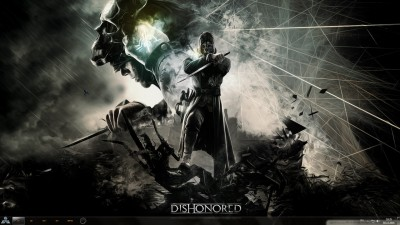 Dishonored Theme for Windows 8 and Windows 7