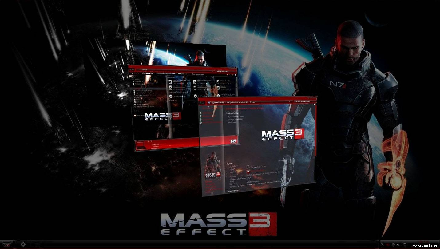 Mass Effect 3 Themes
