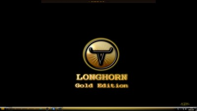 Longhorn 7 Gold Edition theme by x ile2010