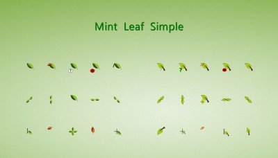 Leaf Cursors by alexgal23