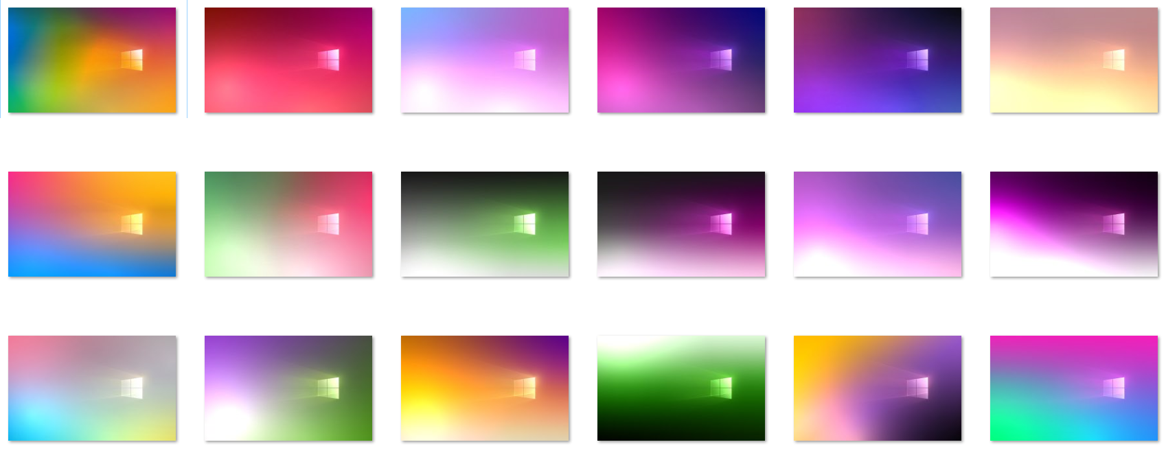 Windows 10 Pride Wallpaper Pack by protheme