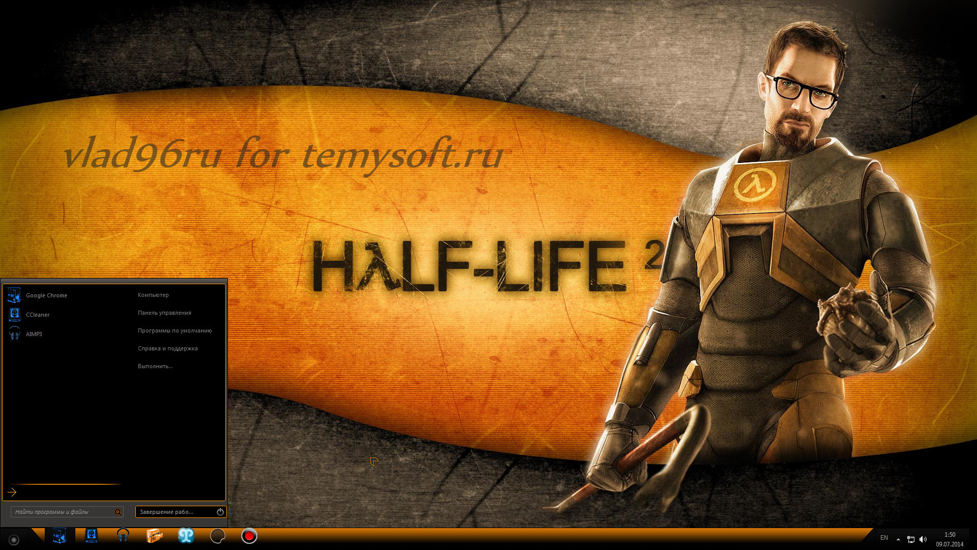 Half Life Black Version + extras by POWEREDBYOSTX