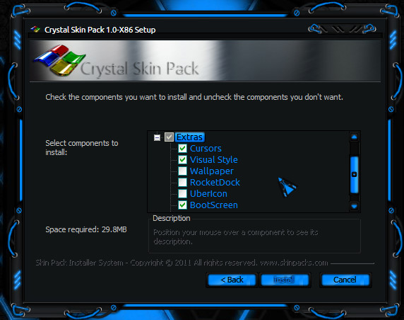 Crystal Skin Pack 1.0