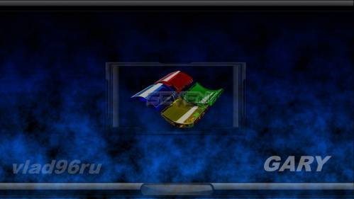Windows Glass Flag Logon by GARY